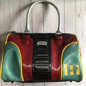 Loungefly Boba Fett Star Wars Bag Like New!